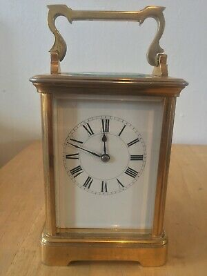 Antique Carriage Clock, with Working Wind-up Function and Key