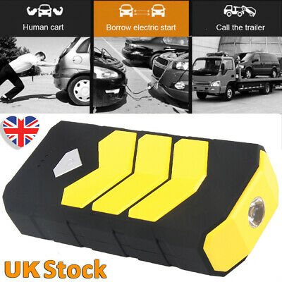 400A USB Jump Starter Battery Car Power Bank Resuce Pack Charger Booster UK TOP