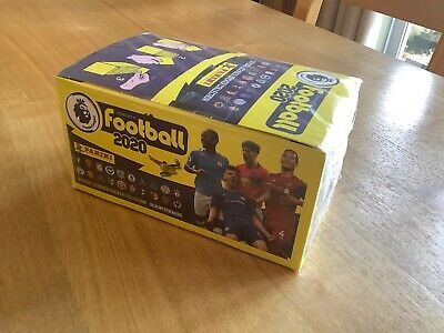 100 pack Box - Panini Football 2020 Premier League Stickers - New, sealed.