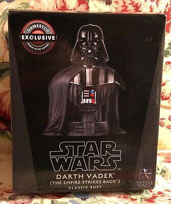 "Gentle Giant Star Wars GameStop Exclusive ""Darth Vader"" Classic Bust with Box"