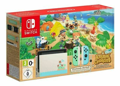Nintendo Switch Animal Crossing New Horizons Limited Edition Console & Game
