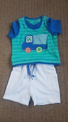 Baby Boys Outfit Size 3-6 Months From Marks And Spencer Brand New
