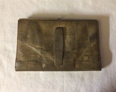 Vintage Lizard Clutch Bag in very good condition