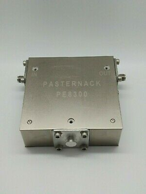 Pasternack PE8300 RF Isolator 1-2GHz 18dB Isolation 0.6dB loss TESTED