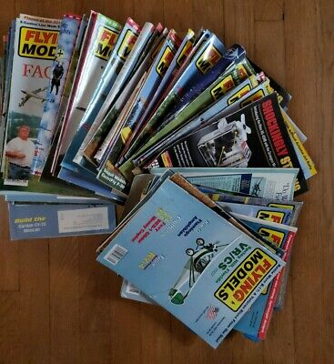 Lot of 64 Flying Models Magazines 2000- 2014