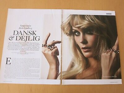 Danish Clipping Article THE ASTEROIDS GALAXY Mette Lindberg G94
