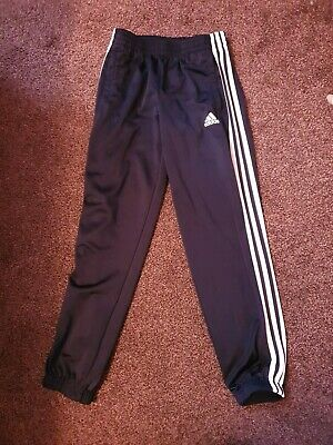 Adidas Navy Track Suit Bottoms 11-12 Years