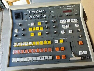 Grass Valley 110 Control Panel