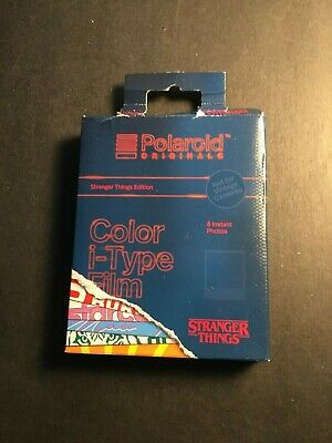 NEW Polaroid Stranger Things Edition Color i-Type Film sealed damaged box a5