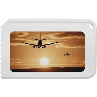 'Airplanes At Sunset' Plastic Ice Scraper (IC00001940)