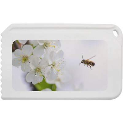 'Bee & Blossoms' Plastic Ice Scraper (IC00001743)