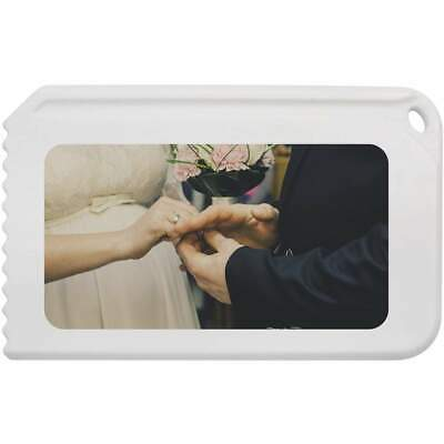 'Bride & Groom' Plastic Ice Scraper (IC00004404)