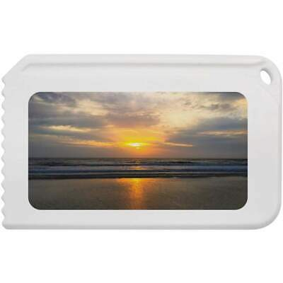 'Sunrise Over Beach' Plastic Ice Scraper (IC00003611)