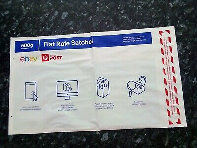Australia Post EBAY Flat Rate 500g (up to 5kg) SMALL Satchels (2 x Pack) Auction