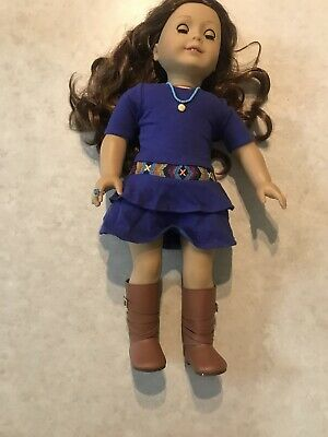 2013 American Girl Doll of the Year Retired Saige Woven Bracelet Girl NEW