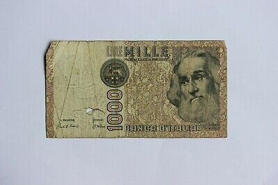 ITALY 1000 LIRE BANKNOTE 1982 Serial # MB 620859 D  (3351930)