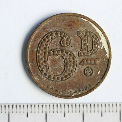 Australia Manly Bowling Club Sixpence check Token (3352881)