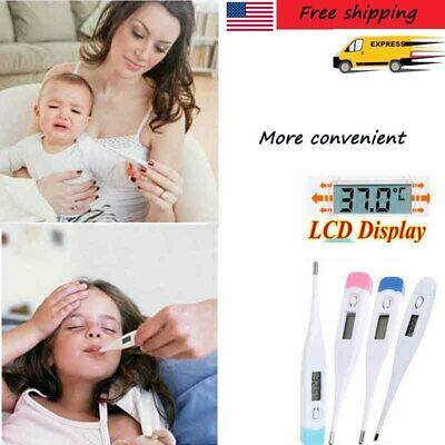 Baby Personal LCD Medical Body Thermometer Adult Child Rectal Digital CE