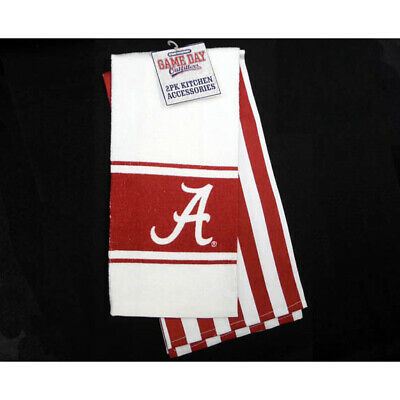 GAMEDAY OUTFITTERS UNIVERSITY OF ALABAMA Crimson Tide KITCHENWARE TOWEL KITCHEN