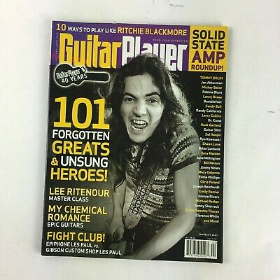 February 2007 Guitar Player Magazine 101 Forgotten Greats Unsung Heroes! Tommy