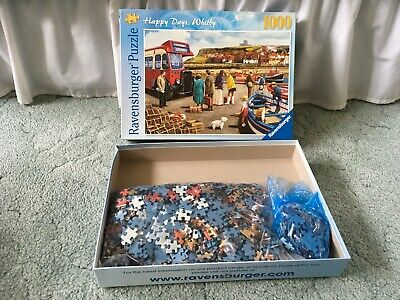 1000 piece Ravensburger Jigsaw: Happy Days, Whitby – Complete (Kevin Walsh)