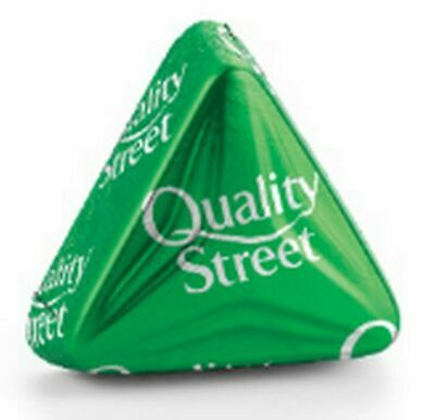 40 x The Green Triangle Quality Street Chocolates - Easter Special