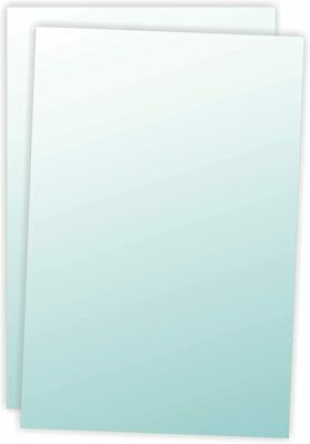 """22"""" x 28"""" Clear Lens Overlays for Bulletin Holders Insert Size Only Sold in Pair"""
