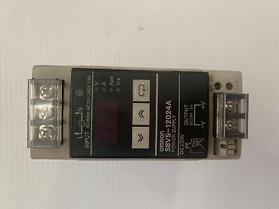 Omron S8VS-12024A Power Supply 24VDC 5A