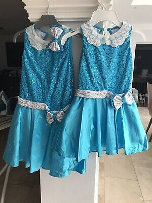 Turquoise Dance Costumes By 1st Position Vgc Lc &  XLC