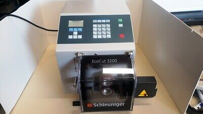 Schleuniger EcoCut 3200 Cutting Machine , Tube, Cable ,