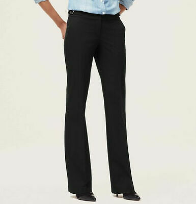 $79 Ann Taylor LOFT Julie Trouser Leg Pants in LOFT Custom Stretch Size 4 P
