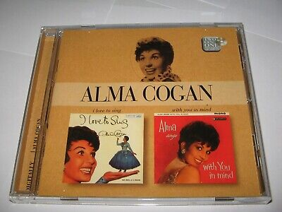 I LOVE TO SING (1958) & ALMA COOGAN SINGS WITH YOU IN MIND (1961) 2 ALBUMS on CD