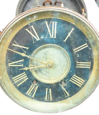 Rare French 8 Day Mantel Clock Movement Hands Dial & Bezel Good Spares Or Repair