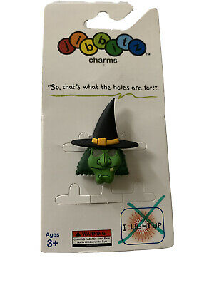 Halloween Witch Jibbit charm for crocs shoes or for crafting 1pc