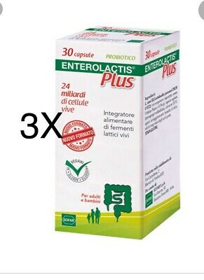 ENTEROLACTIS PLUS 30capsule 3pz