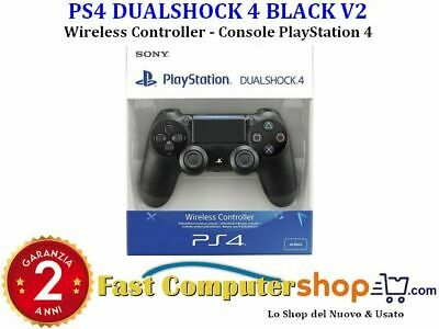 Ps4 Dualshock 4 Black V2 Playstation 4 Sony Controller Wireless