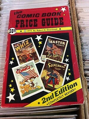 The Comic Book Price Guide 2nd Edition Robert M. Overstreet 1972 VG Condition