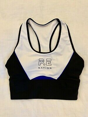 PE Nation Crop Top Small