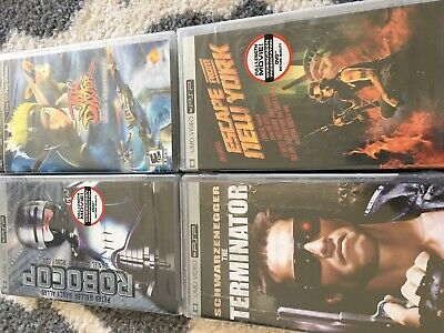 Psp Sealed Lot Very Oop Jak And Daxter Escape From New York Terminator Robocop