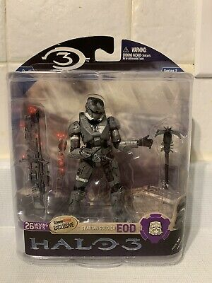 HALO 3 ODST EXCLUSIVE GAMESTOP MOBILE MCFARLANE TOURNAMENT TROPHY RARE SEALED