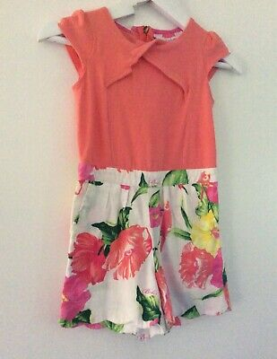 TED BAKER size 2  shortsuit playsuit  18th -24mths