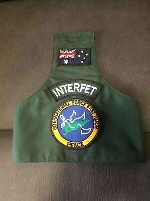 Interfet brassard plus Operation slipper cap and patches