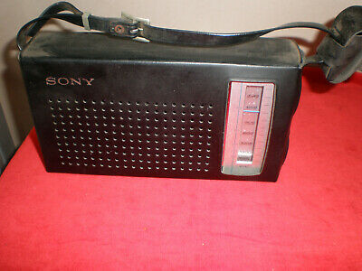 Collectabl,Rare Sony Solid Band Transistor Radio,Model 4R-57 Made in Japan.