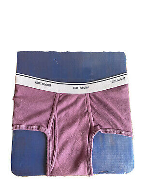 Men's Purple Fruit Of The Loom Underwear Briefs