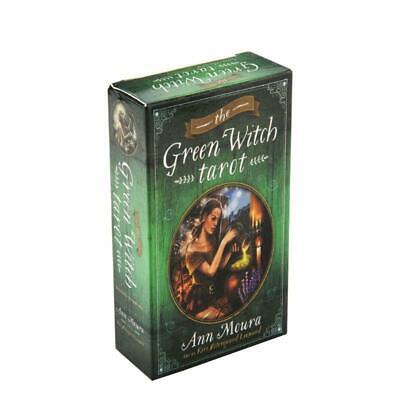 78pc The Green Witch Tarot Cards Deck Party Board Game Oracle Playing Card