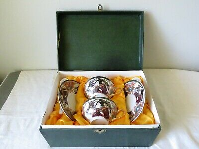 Vintage Japanese porcelain tea set in box