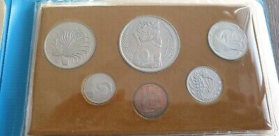 Singapore 1977 Year of the Snake Coin Collection Unc