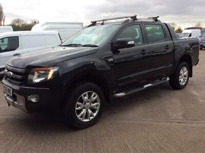 TOP  SPEC 1 OWNER 2015/65 FORD RANGER  3.2 TDCi WILDTRAK DOUBLE CAB PICK UP  4X4