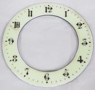Enamel Clock Dial French Clock Dial Arabic Numerals Chaptering 1900 10cm