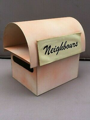 Vintage NEIGHBOURS Letter Box - DAPHNE CLARKE, Elaine Smith, 1980's